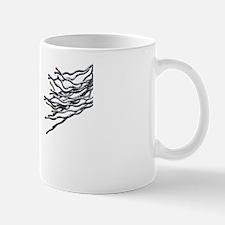 Broken connections, conceptual artwork Mug