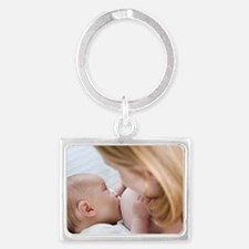 Breastfeeding Landscape Keychain