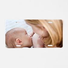Breastfeeding Aluminum License Plate