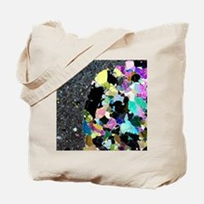 Olivine inclusion in basalt Tote Bag