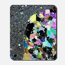 Olivine inclusion in basalt Mousepad