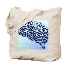 Brain complexity, conceptual artwork Tote Bag