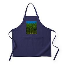 Organically grown wheat grass, Tritic Apron (dark)