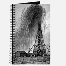 Oil well, 19th century Journal