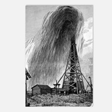 Oil well, 19th century Postcards (Package of 8)