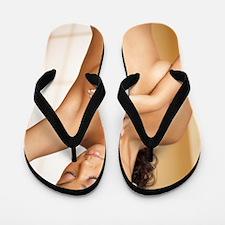 Breast self-examination Flip Flops