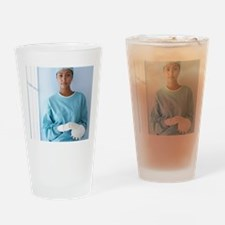 Breast implant Drinking Glass
