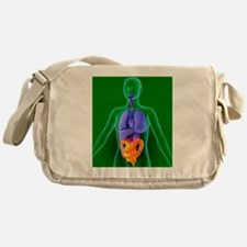 Bowel, artwork Messenger Bag