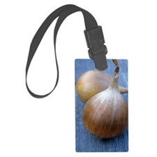 Onion (Allium cepa 'Ailsa Craig' Luggage Tag