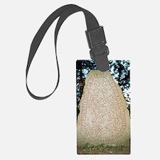 Olsbro rune stone Luggage Tag