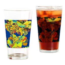 Oestradiol, female sex hormone Drinking Glass