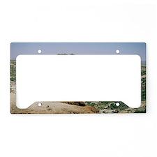 Olduvai Gorge, Tanzania License Plate Holder