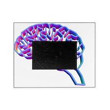 Brain complexity, conceptual artwork Picture Frame