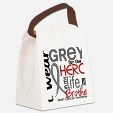 D Brother Canvas Lunch Bag