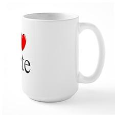 """I Love (Heart) Pete"" Mug"