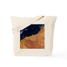 Northwestern Australia, satellite image Tote Bag
