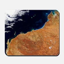 Northwestern Australia, satellite image Mousepad