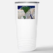 Nile Delta, satellite image Travel Mug