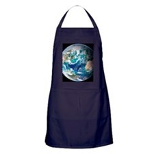 Blue Marble image of Earth (2005) Apron (dark)