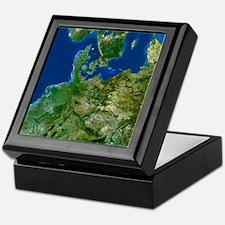 North-eastern Europe Keepsake Box