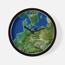 North-eastern Europe Wall Clock