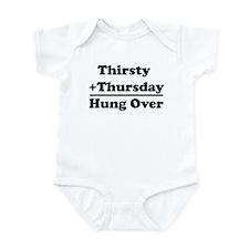 Equals: Hung Over Infant Bodysuit