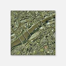 "Newcastle upon Tyne, UK, ae Square Sticker 3"" x 3"""