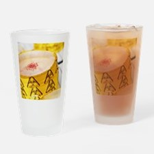 Biohazard warning Drinking Glass