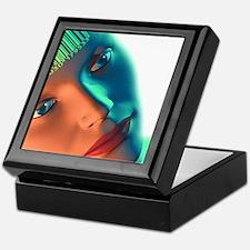 Biometric identification, artwork Keepsake Box