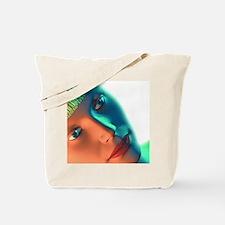 Biometric identification, artwork Tote Bag