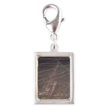 Nazca lines Silver Portrait Charm