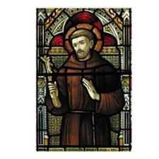 St Francis of Assisi Postcards (Package of 8)