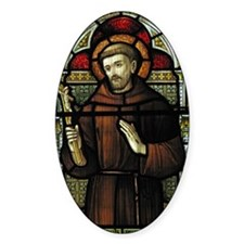 St Francis of Assisi Decal