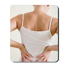 Back pain Mousepad