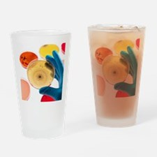 Bacteria research Drinking Glass