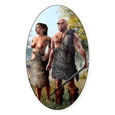 Neanderthals, artwork Decal
