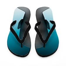Barcoded man, artwork Flip Flops
