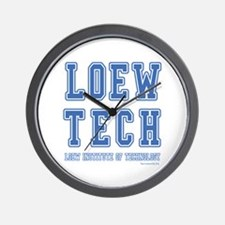 Loew Tech Wall Clock