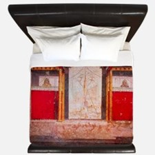 Mural of an ancient Roman theatre stage King Duvet