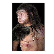 Neanderthal man Postcards (Package of 8)