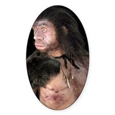 Neanderthal man Decal