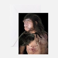 Neanderthal man Greeting Card