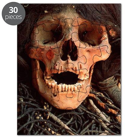 Mummified skull Puzzle