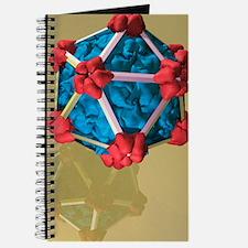 Bacteriophage alpha 3, artwork Journal