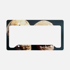 Neanderthal and Cro-Magnon 1  License Plate Holder