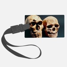 Neanderthal and Cro-Magnon 1 sku Luggage Tag