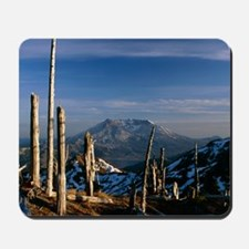 Mount St Helens volcano Mousepad