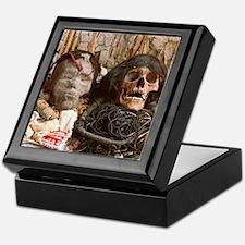 Mummified heads Keepsake Box
