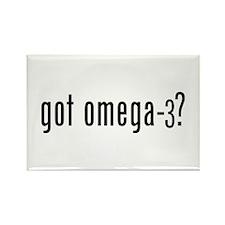 got omega-3? Rectangle Magnet (10 pack)