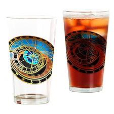 Astronomical clock, artwork Drinking Glass